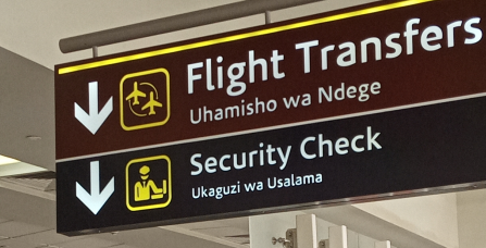 Flight transit Transfers and Connections